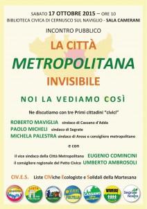 la città metropolitana invisibile r