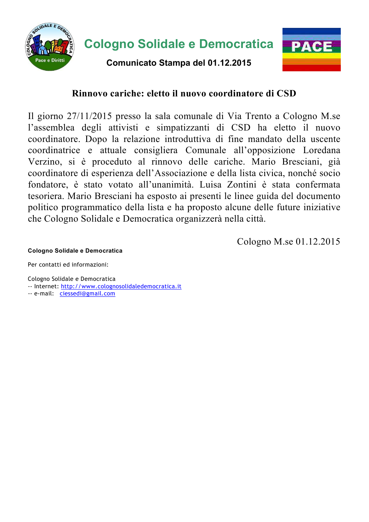 CSD_NuovoCoordinatore